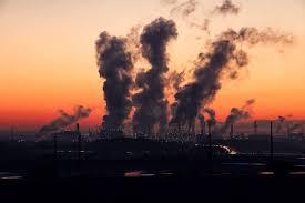 Luchtvervuiling-visolie