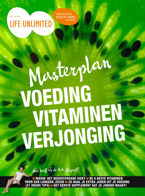 Masterplan voeding, vitaminen, verjonging