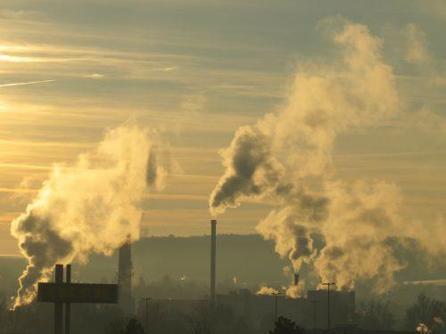 Luchtvervuiling ouderdomsvlekken